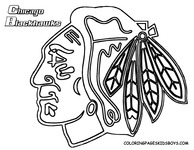 Emejing Chicago Blackhawks Coloring Pages Ideas Coloring Page